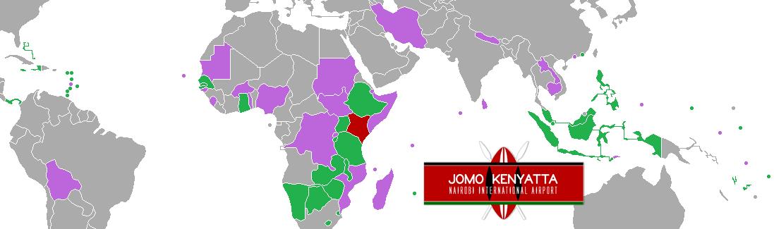 Visa free destinations for Kenyans